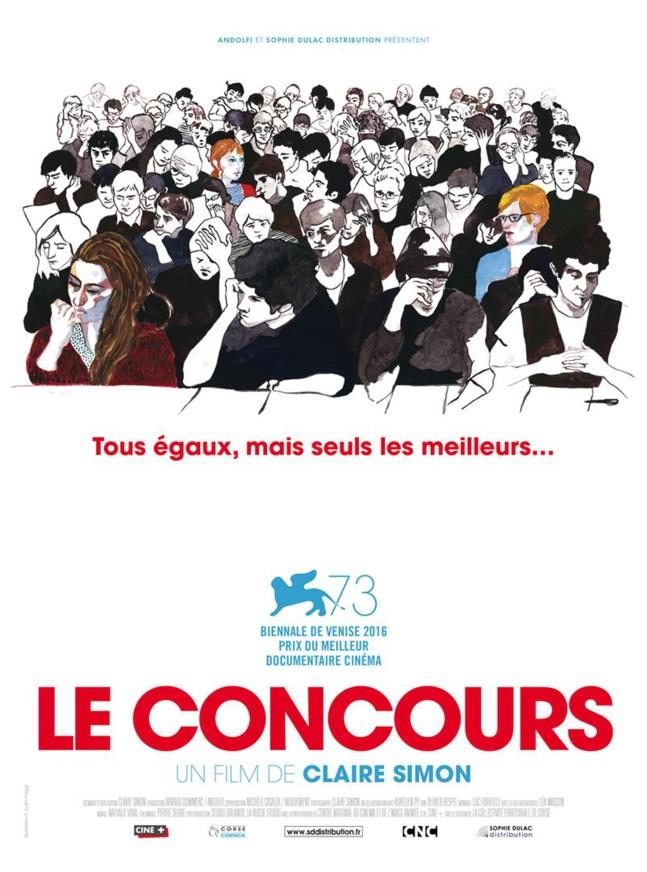 Le concours. Lundi 27 novembre 2017 à partir de 20h30 à la Cinémathèque de Corse.