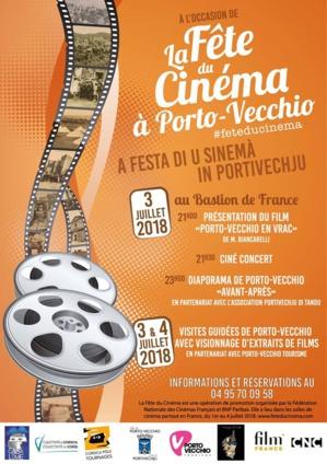 Fête du Cinéma 2018 à Porto-Vecchio