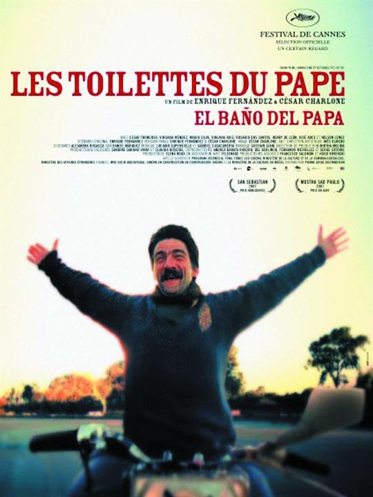 """(Re)découvertes.... Projection du film """"Les toilettes du Pape"""" d'Enrique Fernandes et César Charlone, Lundi 3 Décembre 2018 à la Cinémathèque de Corse à partir de 20h30."""