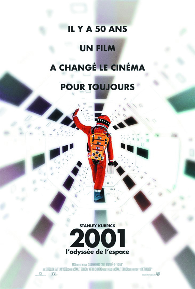 """Projection du film """"2001, l'odyssée de l'espace""""de Stanley Kubrick,Lundi 17 décembre 2018, à 18h30 à la Cinémathèque de Corse."""