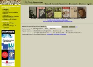 Ciné-Ressources
