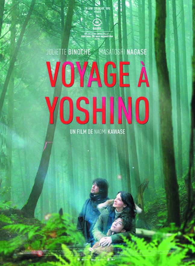 """Projection du film """"Voyage à Yoshino"""" de Naomi Kawase le Dimanche 16 juin à 17h00 à la Cinémathèque de Corse."""