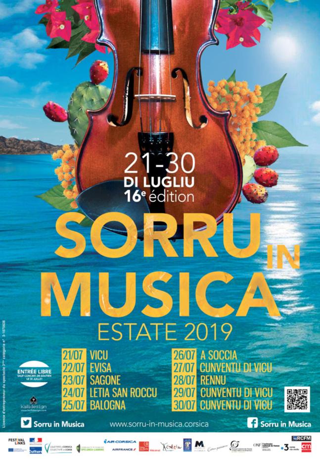 Festival Sorru in Musica à Balogna le 25 juillet 2019- Ciné-concert «  Les Ombres qui passent » d'Alexandre Volkoff,à partir de 21h30.