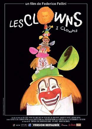 """""""Les dimanches de la Cinémathèque"""" le 12 janvier Projection des films """"Les clowns""""  et """"Répétition d'orchestre""""  de Federico Fellini à partir de 17h00 à la Cinémathèque de Corse."""