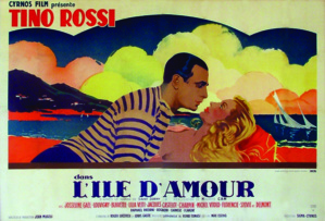 Le producteur et distributeur du film, Hercule Mucchielli est de Ghisoni, le réalisateur Maurice Cam de Bastia, et Tino Rossi l'Ajaccien interprète une romance sensée se passer sous le ciel de L'Ile D'amour(1943), la Corse.