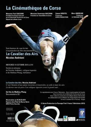 LE CAVALIER DES AIRS - En présence de Nicolas Andreani