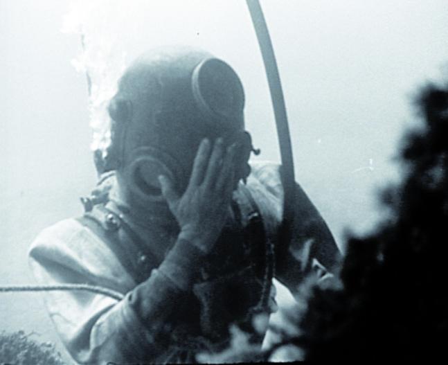 Vestiges sous marins