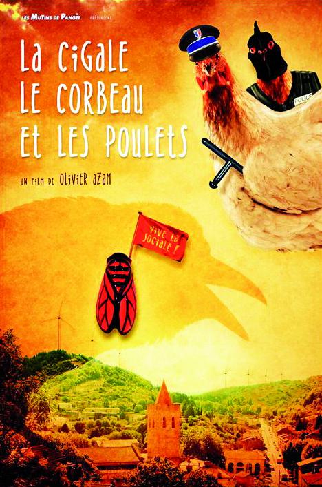 Rencontre avec Olivier Azam et Jean Oreglia. La cigale, le corbeau et les poulets.