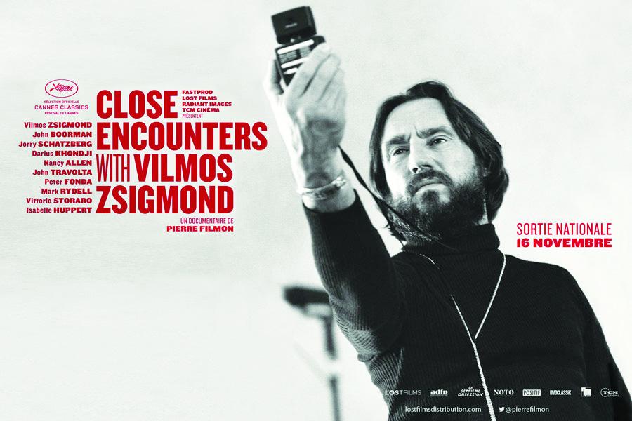Close encounters with Vilmos Zsigmond. Jeudi 23 novembre 2017 à partir de 20h30. Soirée en présence de Pierre Filmon.