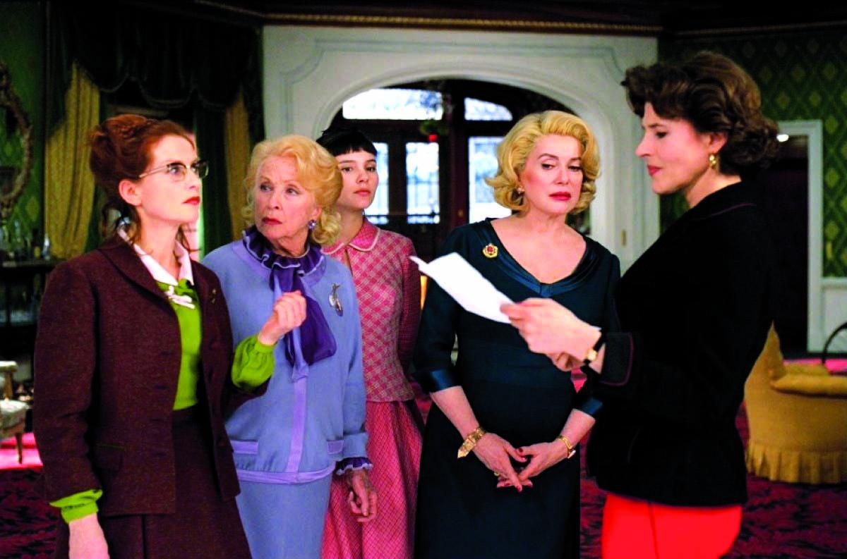 """Hommage à Danielle Darieux.""""Huit femmes"""" Lundi 5 Mars 2018 à 20h30 à la Cinémathèque de Corse."""
