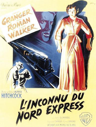 """Carte blanche à Stéphane Goudet. Projection du film """"L'inconnu du Nord-Express"""" le Jeudi 5 Avril 2018 à la Cinémathèque de Corse à partir de 20h30."""