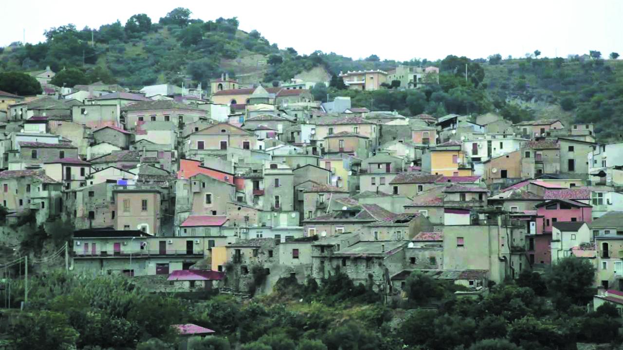 Le village de Riace, en Calabre.