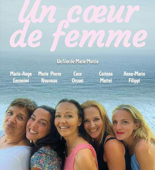 """Projection des films """"Béatrice"""" de Rinatu Frassati et """"Un cœur de femmes"""" de Marie Murcia le 8 Août à Olmi Capella à 21h00."""