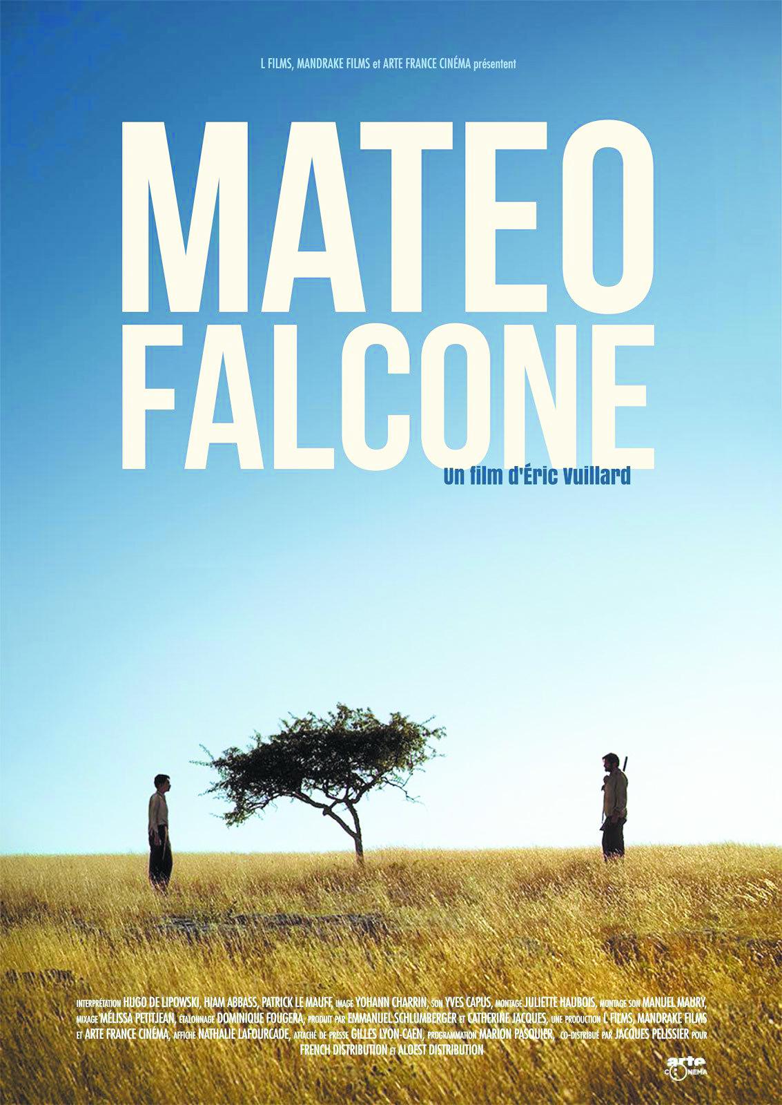 """Projection du film """"Mateo Falcone"""" d'Eric Vuillard à la Cinémathèque de Corse le Jeudi 10 octobre 2019 à 20h30."""