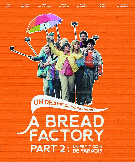 """Projection du film """"A bread factory """"de Patrick Wang, le Samedi 30 novembre à partir de 17h00 à la Cinémathèque de Corse."""