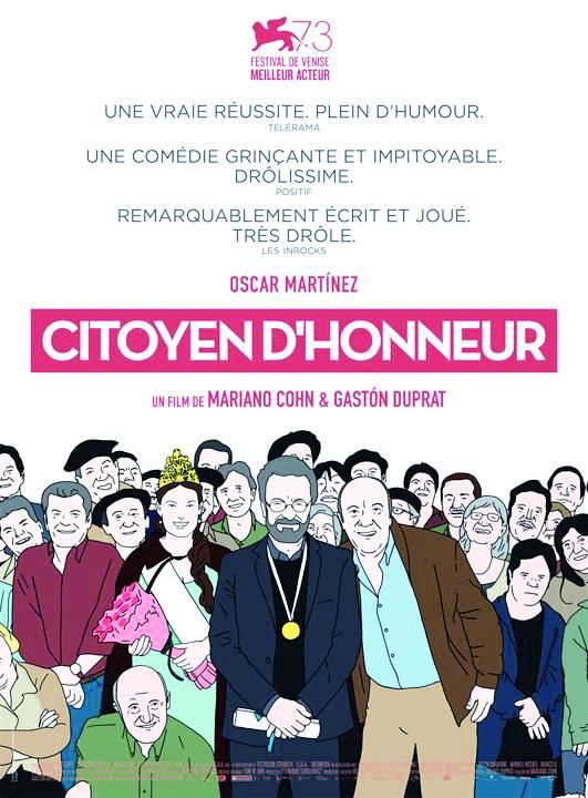 """Cinéma Littérature- Projection du documentaire """"Jérôme Ferrari, une vie après le Goncourt"""" de Sébastien Bonifay, suivi du film """"Citoyen d'honneur""""de Mariano Cohn et Gastón Duprat,le Vendredi 6 mars à partir de 18h00 à la Cinémathèque de Corse."""