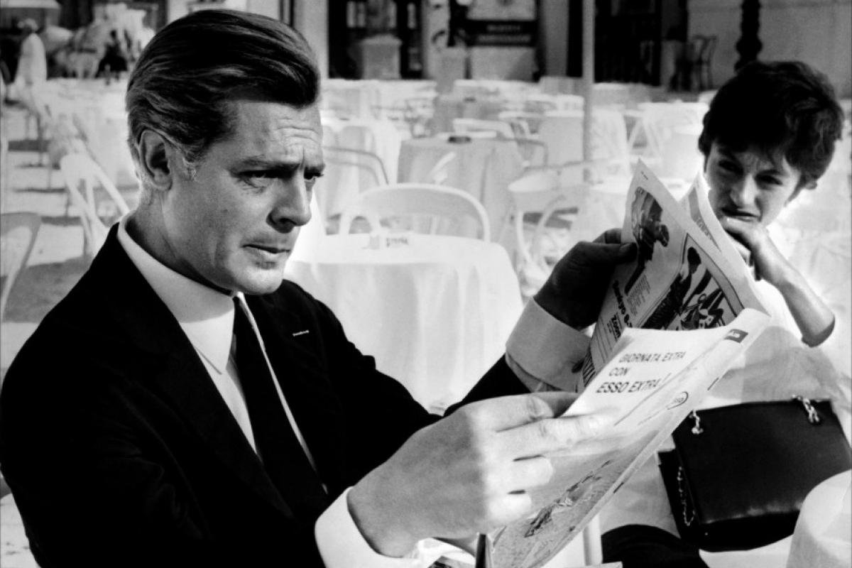 """""""Huit et demi"""" de Federico Fellini"""