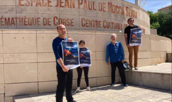 Antoine Filippi, Océane de Simone, Jean-Pierre Mattei et Alix Ferraris sont prêts pour la 14ème édition du festival des Nuits Med qui se déroulera du 31 mai au 05 juin prochains