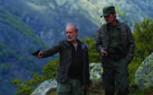 Séance de Cinémathèque Itinérante à Sollacaro.
