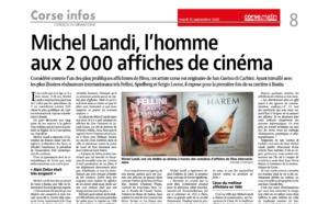 Michel Landi, l'homme aux 2000 affiches de cinéma.
